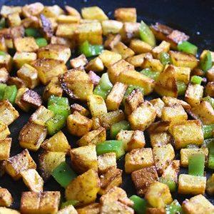 Easy Vegan Breakfast Hash 2