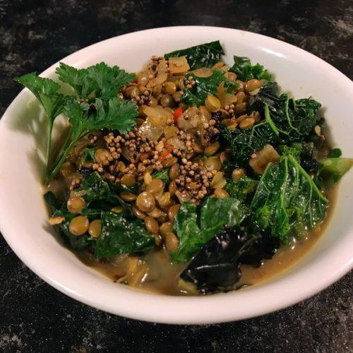 Aunt Dorothy's Vegan Red Lentil Soup 1
