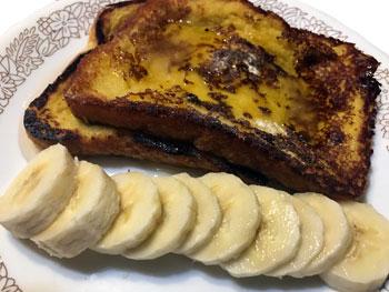 Vegan French Toast 1