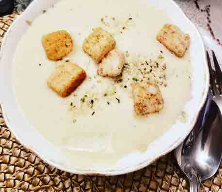 Vegan Leek And Potato Soup 1