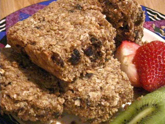 Verna Vegan Oatmeal Squares 1