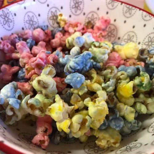 Rainbow Vegan Popcorn 1