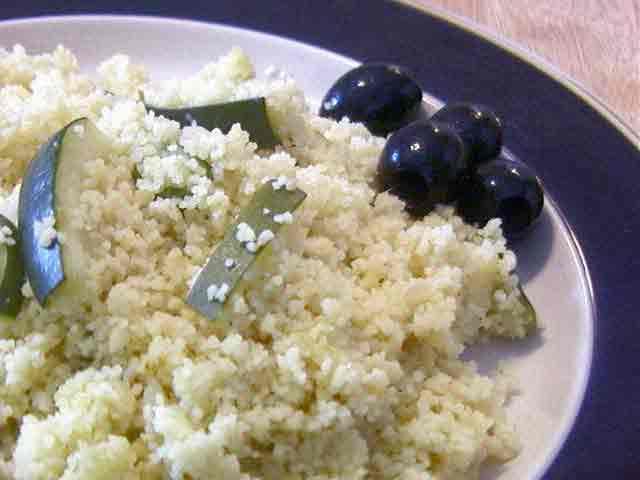 Vegan Zucchini Couscous 1