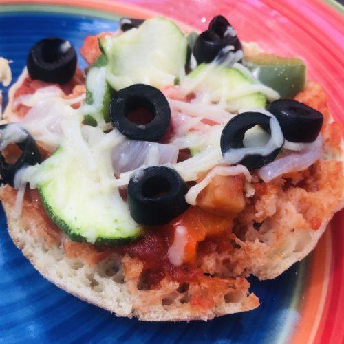 Vegan Pizza Muffins 1