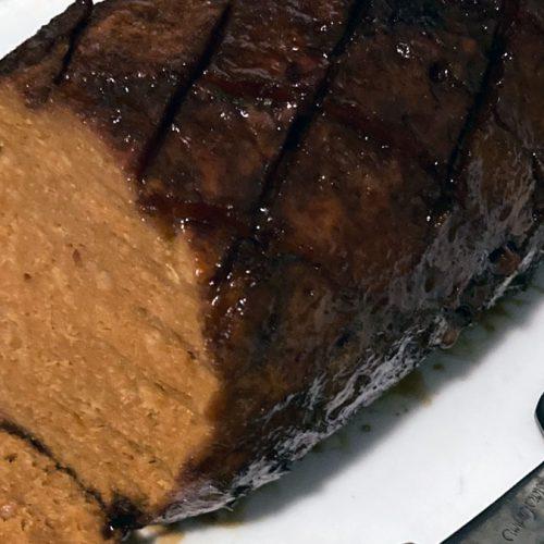 Easy Holiday Seitan Vegan Ham for 4 People 4
