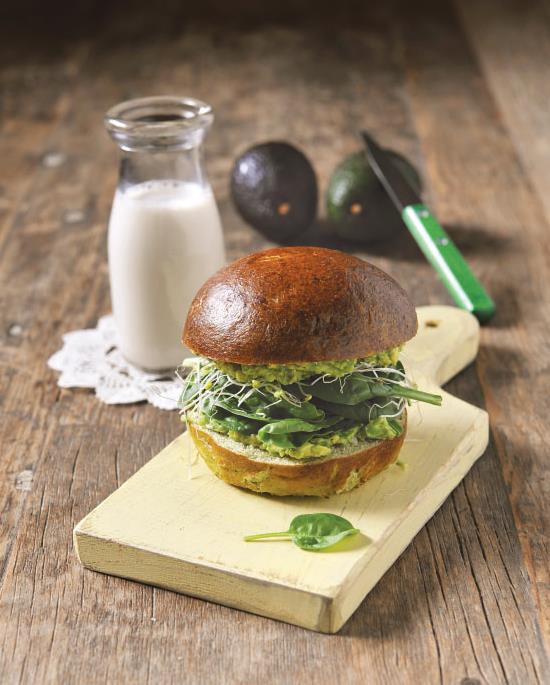 THE INCREDIBLE GREEN VEGAN SANDWICH 3